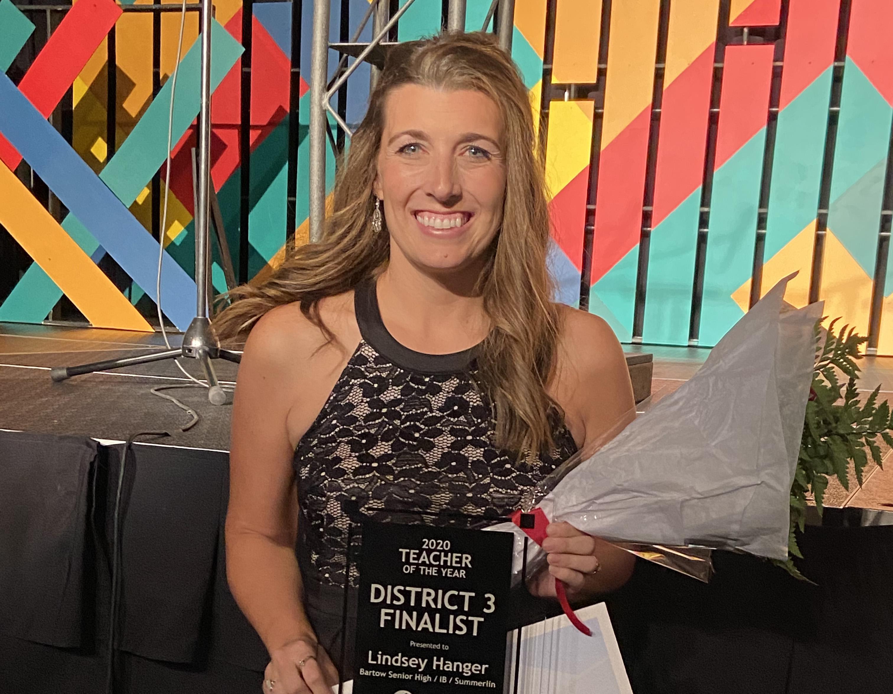 Hanger, Lindsey BHS 2020 Teacher of the Year