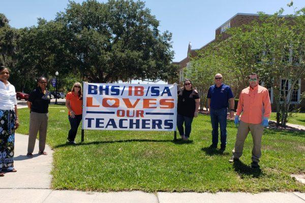 BHS/IB/SA Loves our Teachers
