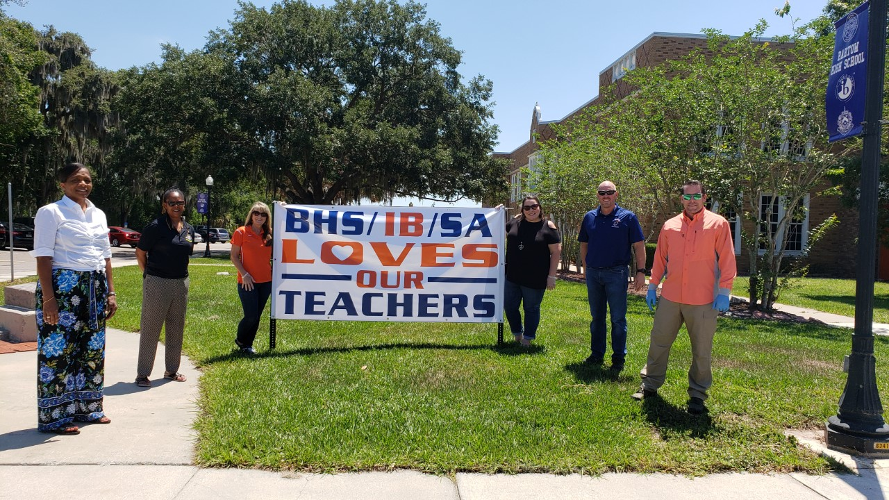 BHS/IB/SA Loves our Teachers