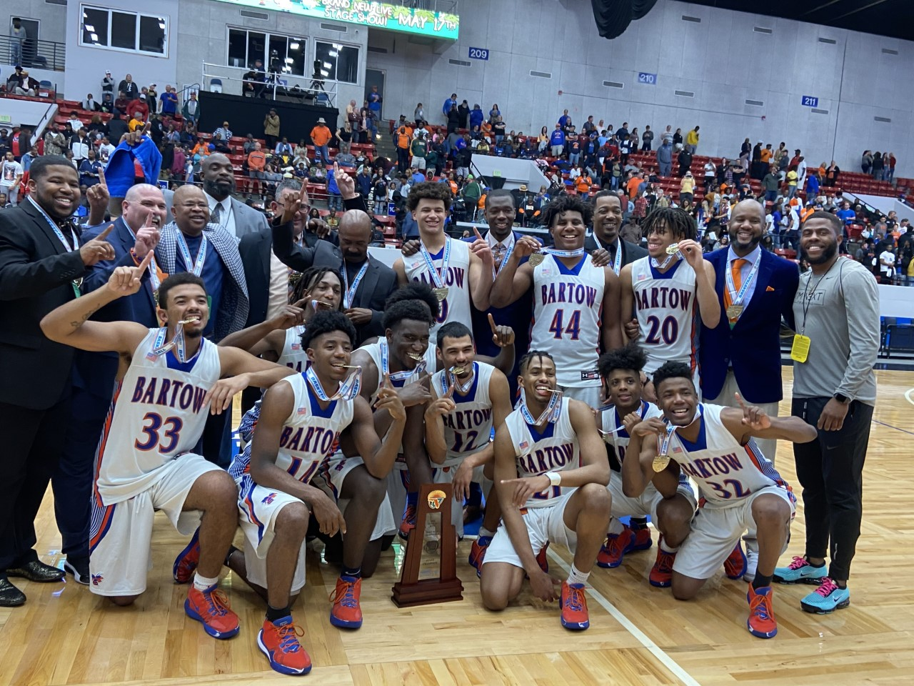 2020 Bartow Boys Basketball Class 6A State Campions